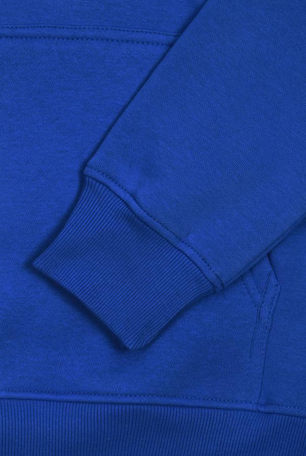 Худи бланк синяя фото 2