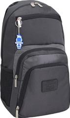 Рюкзак для ноутбука Bagland Freestyle 21 л. черный /серебро (00119169)