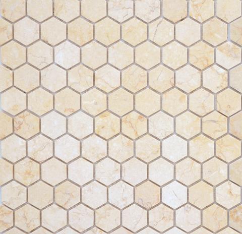 Мозаика Botticino MAT hex 18x30x6 285х305