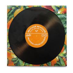 Яблочная пастила «Вкусная мелодия» апельсин