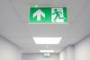 Аварийные эвакуационные световые указатели Suprema LED D-eco PT IP44 Intelight – пример инсталляции