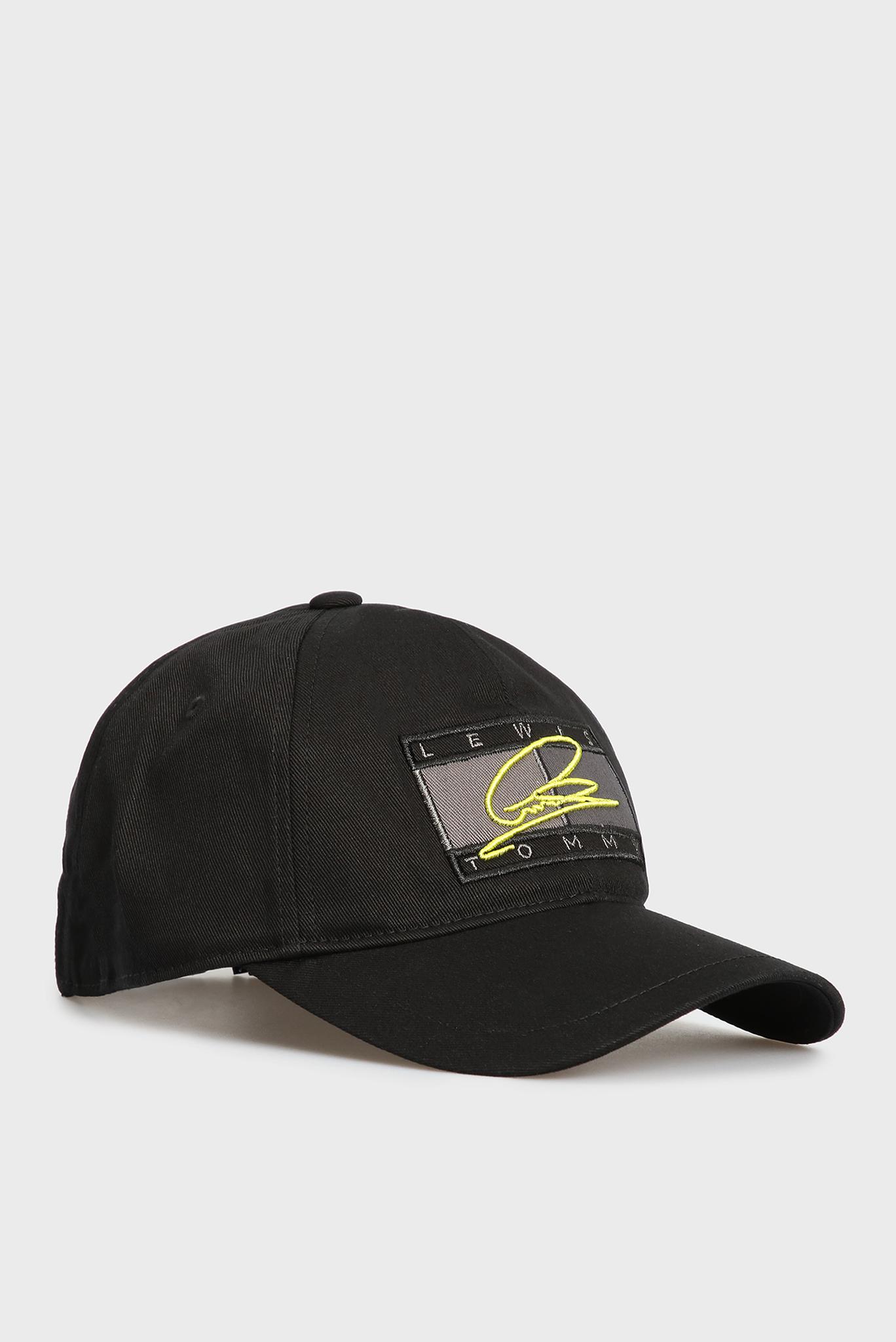 Мужская черная кепка Lewis Hamilton 3 Tommy Hilfiger