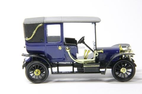 Russo-Balt C24-30 Landole 1910 blue Agat Mossar Tantal 1:43