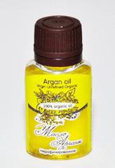 Косметическое  масло АРГАНЫ/  Argan Oil Virgin Unrefined Organic / нерафинированное, органик/ 20 ml