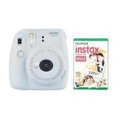 Fotoaparat Fujifilm instax Mini 9 Camera with 10 Shots - Smoky White
