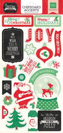 Чипборд Christmas CHEER