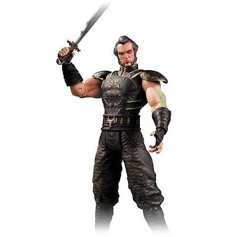 Batman Arkham City Action Figure Series 03 — Ra's al Ghul