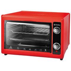 Мини печь | Духовка электрическая 1300 Вт 37 л DELTA D-0122 красная