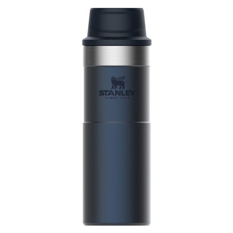Термокружка Stanley The Trigger-Action Travel Mug (10-06439-033) 0.47л синий
