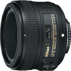 Объектив Nikkor AF-S 50mm f/1.8G Black для Nikon