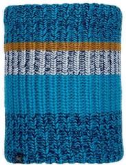 Шарф-труба вязаный с флисовой подкладкой Buff Neckwarmer Knitted Polar Stig Teal Blue