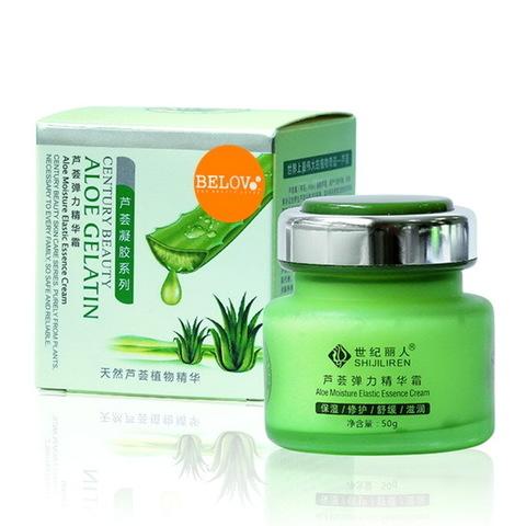 Увлажняющий крем для лица BELOV для чувствительной кожи с экстрактом Aloe, 50 гр.