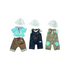 ZAPF Игрушка BABY born Одежда джинсовая для мальчика (в ассортименте) (816-462)