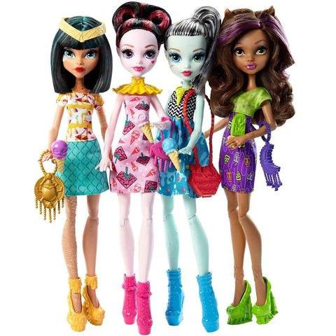 Набор из 4 кукол с мороженым. Новые лица