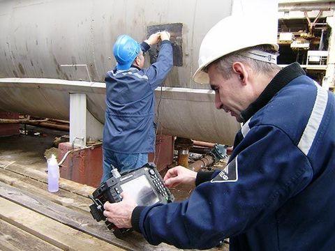 Контроль параметров металлических конструкций
