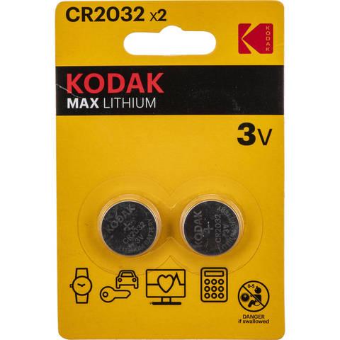 Батарейки CR2032 Кодак  MAX LITHIUM