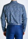 Рубашка из хлопка PAUL SMITH LONDON