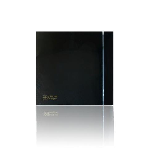 Накладной вентилятор Soler & Palau SILENT-200 CRZ DESIGN-4С BLACK  (таймер)