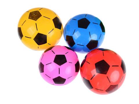Мячик игровой с футбольным рисунком. Диаметр 20 см: 20F