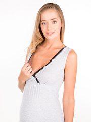 Euromama/Евромама. Комплект для беременных и кормящих хлопковый, черный вид 6