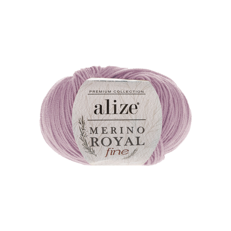 Alize Merino Royal Fine сухая роза 198