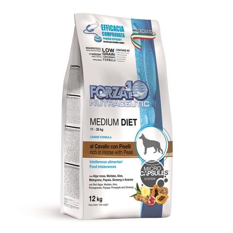 Forza10 Medium Diet Low Grain Cav pis из конины, гороха, риса