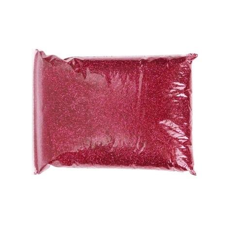 Блёстки в пакете 1 кг, цвет: красный