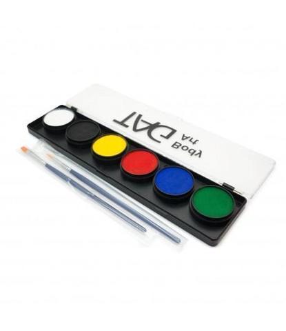 Аквагрим TAG Набор регулярные цвета 6*10гр