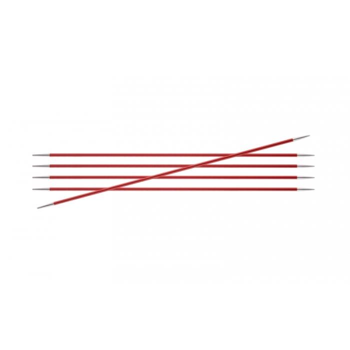 Спицы KnitPro Zing чулочные 2,5 мм/15 см 47003