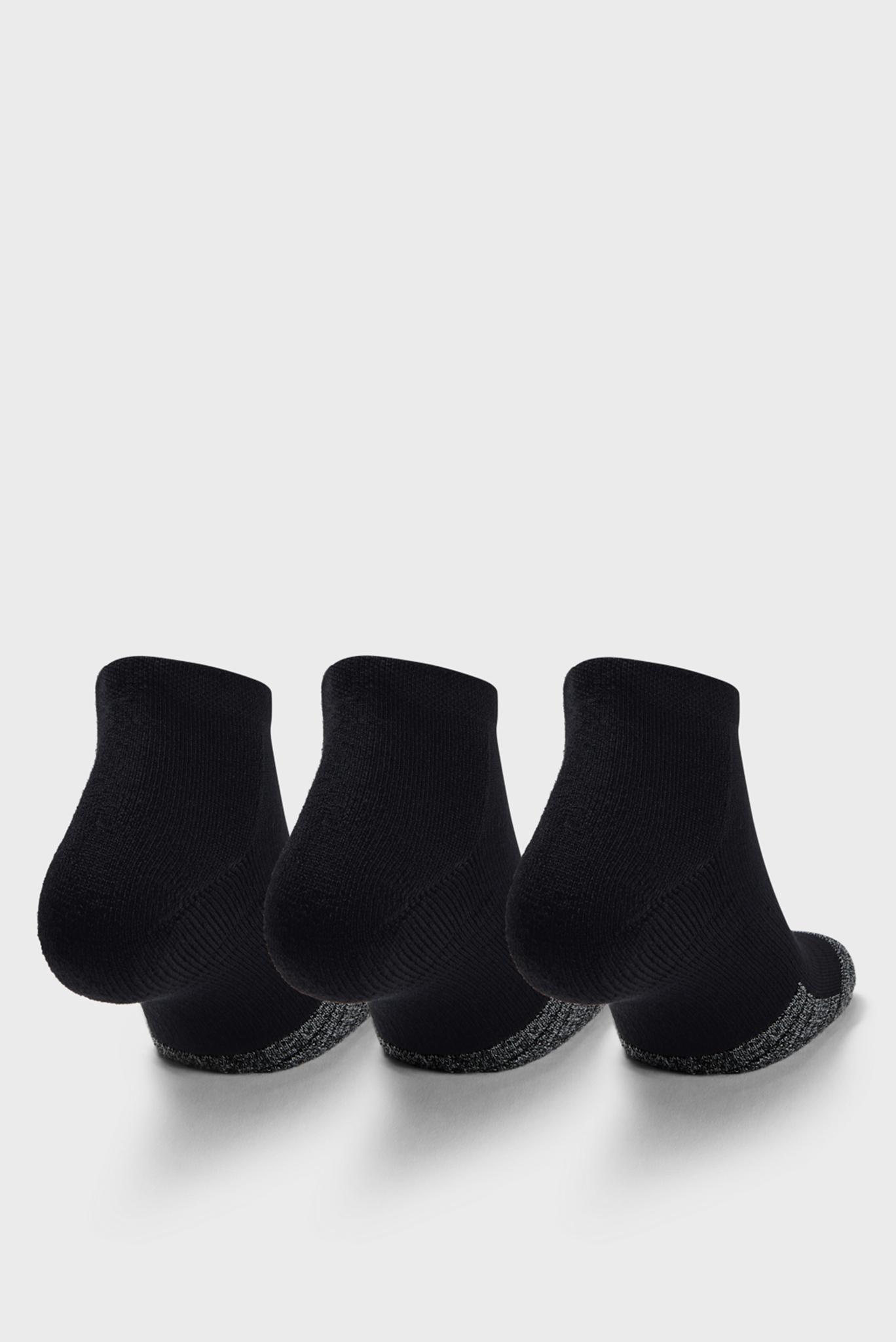 Черные носки (3 пары) UA Heatgear Locut Under Armour