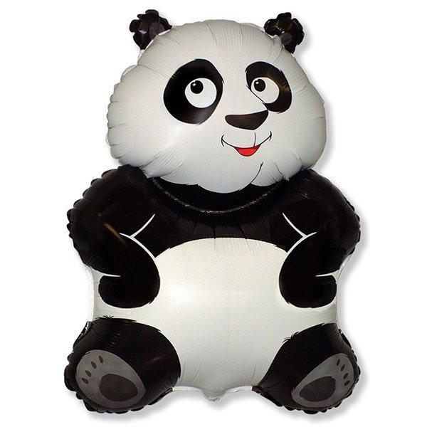 Фольгированные шары фигуры Фольгированный шар Панда 109425.jpg
