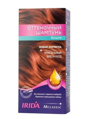 Irida Irida М classic Оттеночный шампунь для окраски волос Вишня 3*25мл