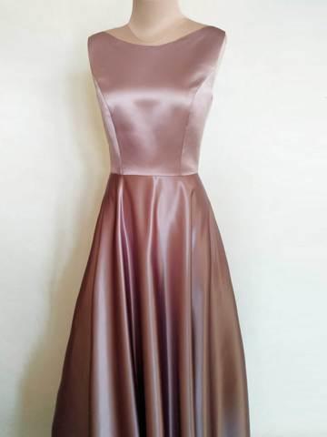 Длинное вечернее платье 1