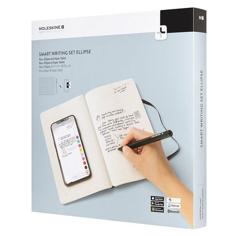 Набор Smart Writing Moleskine SWSA (блокнот Paper Tablet/ ручка SMART PEN+ Ellipse)