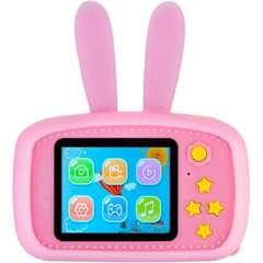 Фотоаппарат для ребенка заяц розовый