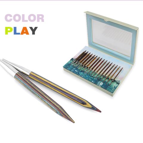 KnitPro Набор съемных спиц Color Play Deluxe Set