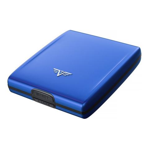 Кошелек c защитой Tru Virtu Beluga, светло-синий, 107x93x22 мм