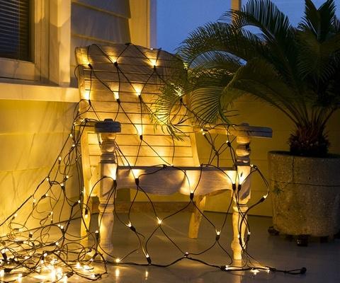 Гирлянда новогодняя сетка 2 метра на 3 метра 420 LED