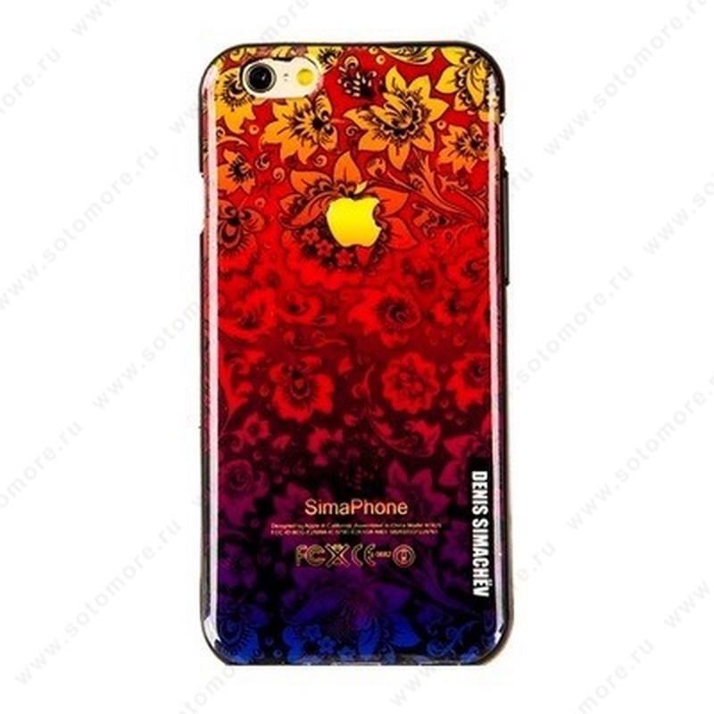 Накладка Denis Simachev силиконовый для Apple iPhone 6s Plus/ 6 Plus вид 19