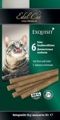 Лакомство для кошек Edel Cat Колбаски с мясом зайца и печенью