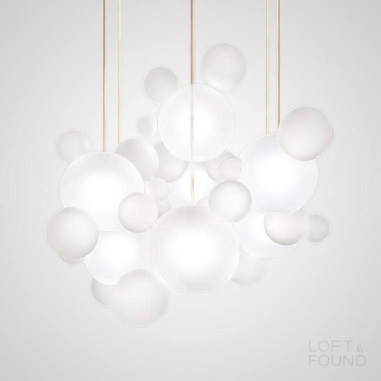 Подвесной светильник Bubble B Milk