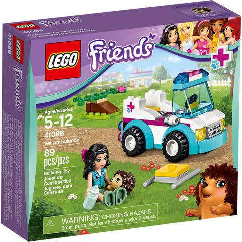 LEGO Friends: Ветеринарная скорая помощь 41086 — Vet Ambulance — Лего Френдз Друзья Подружки