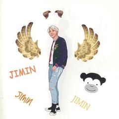 Стикербук The Army of K-POP stickers 2