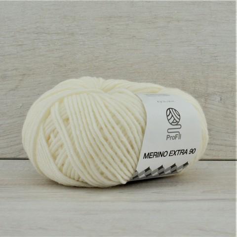 Пряжа Merino Extra 90 (Мерино экстра 90) Белый