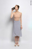 Grey wrap chiffon skirt  | 4 lengths