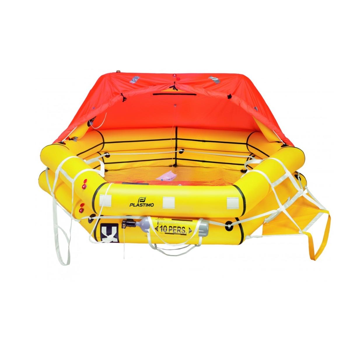Transocean liferaft, ISAF