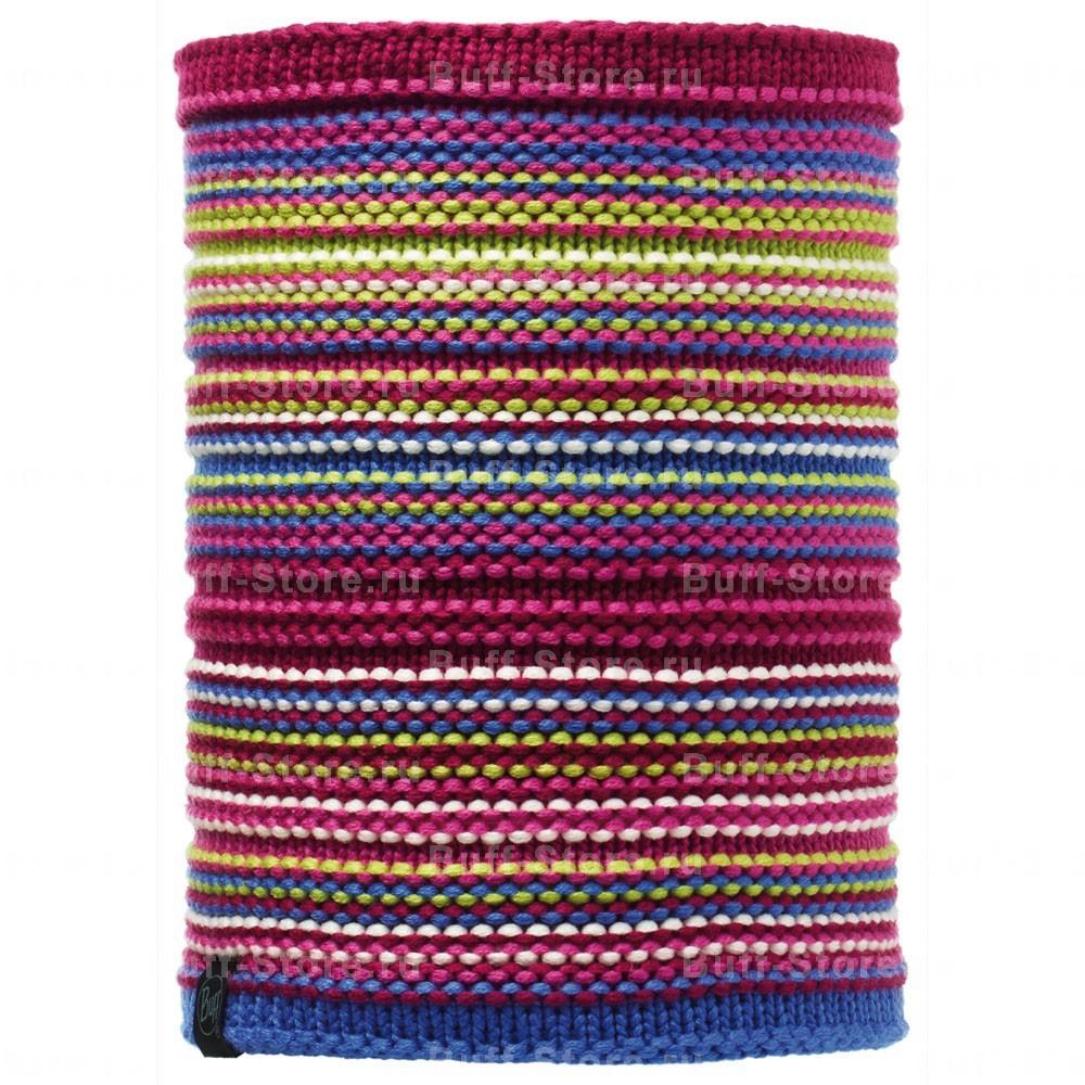 Детские шарфы Вязаный шарф-труба с флисовой подкладкой Buff Amity 107995.jpg