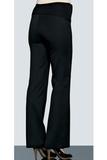 Утепленные брюки для беременных 02675 черный