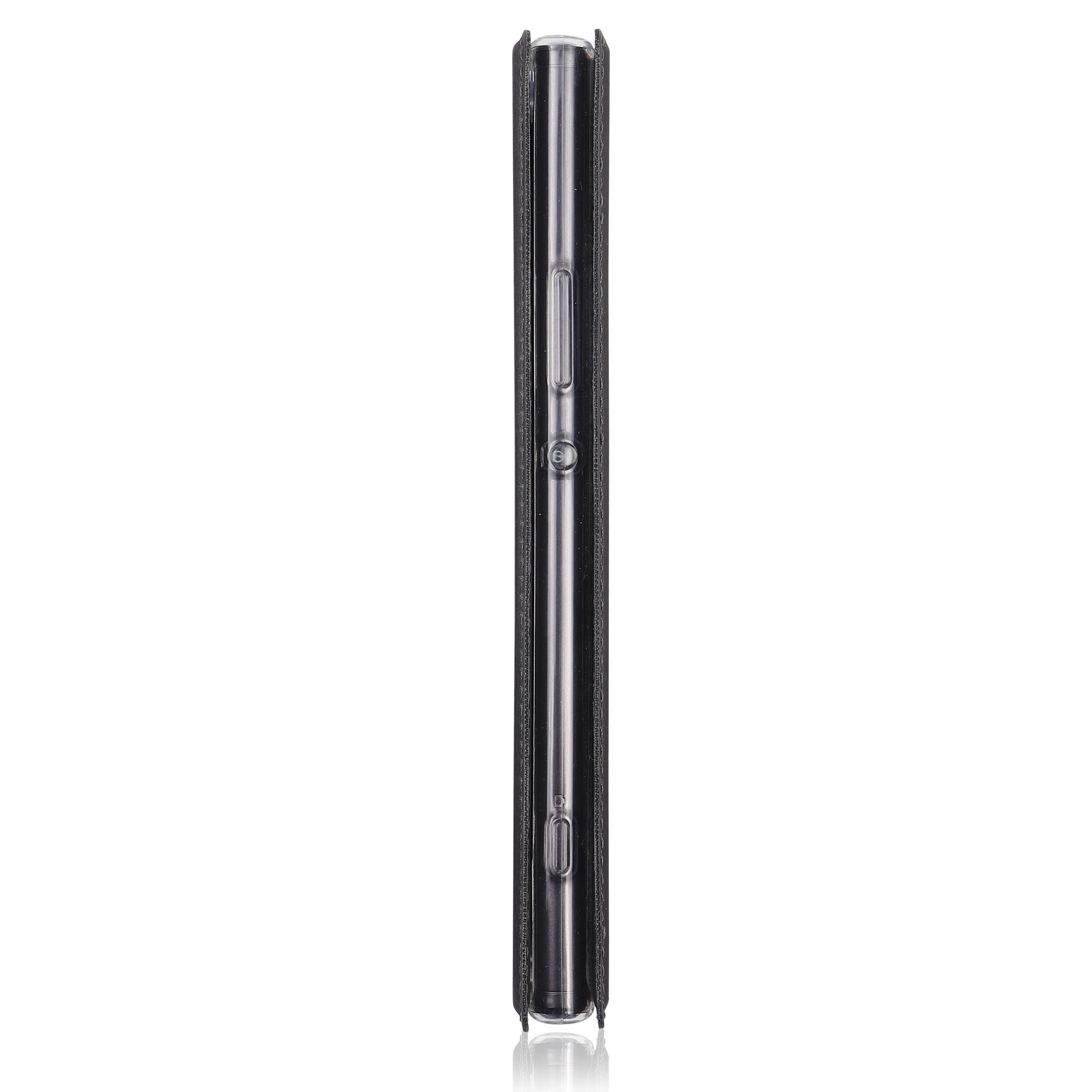 Brosco XA2 Plus / чехол-книжка, цвет черный
