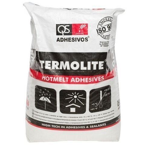 Клей-расплав для кромкооблицовочных станков QS ADHESIVOS TERMOLITE TE-45, TERMOLITE TE-60